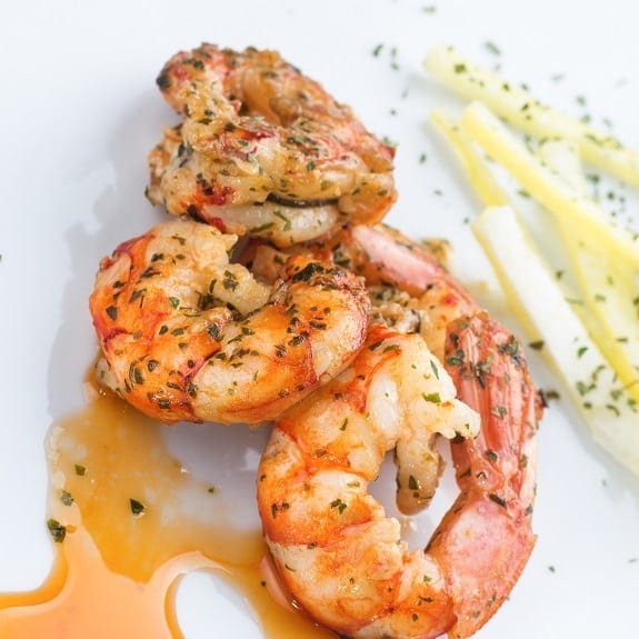 baked shrimp with garlic and herbs