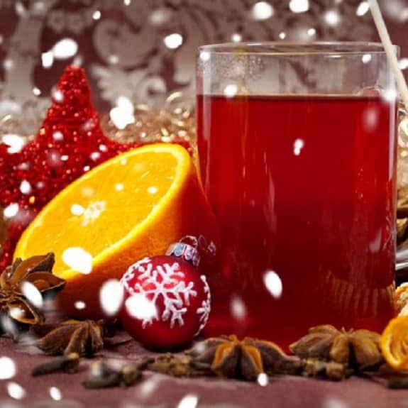 English Christmas punch recipe