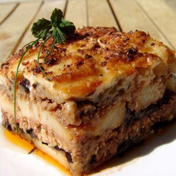 how to cook moussaka easy