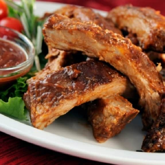 oven grilled spareribs
