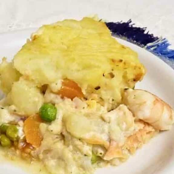 oven baked fish pie