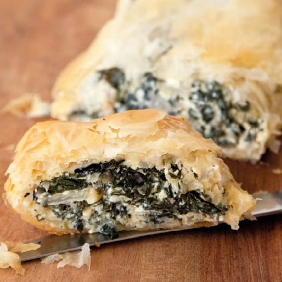 spinach and feta roll-ups