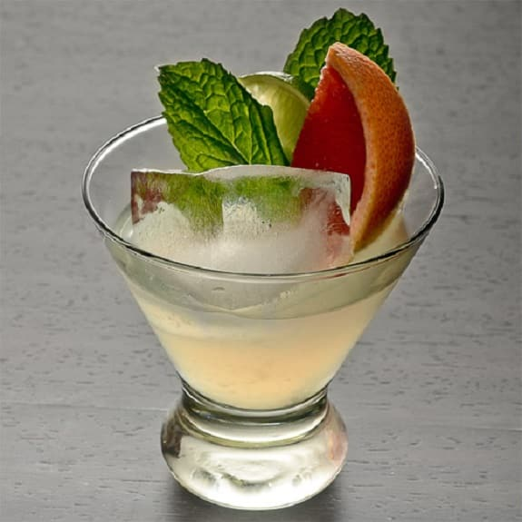 tequila citrus mint cocktail