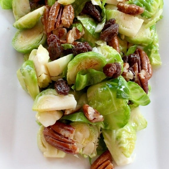 Brussels Sprout Salad - Magic Skillet
