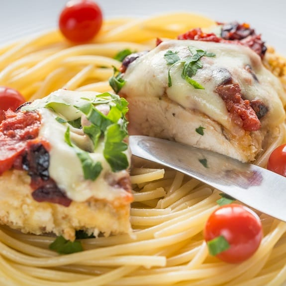 how to cook chicken parmijan