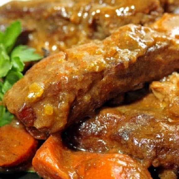 slow cooker indian-style riblets