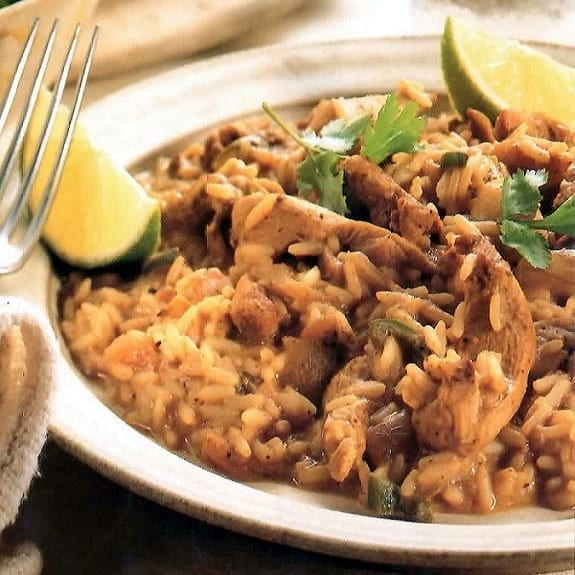 slow cooker caribbean peanut chicken
