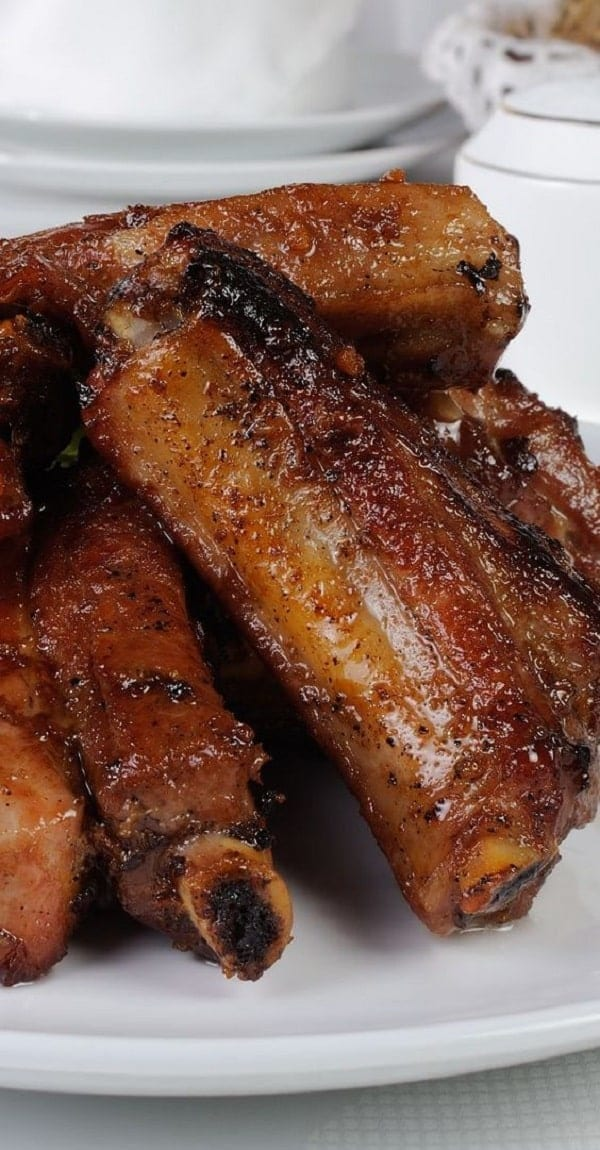 pressure cooker honey ginger pork ribs