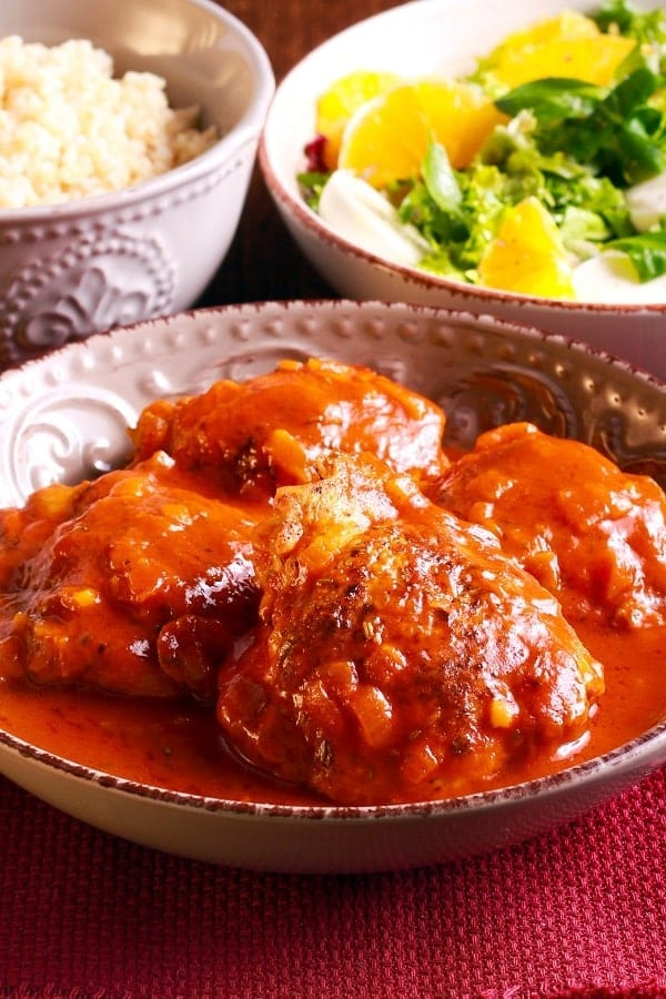 pressure cooker curry chicken thighs recipe