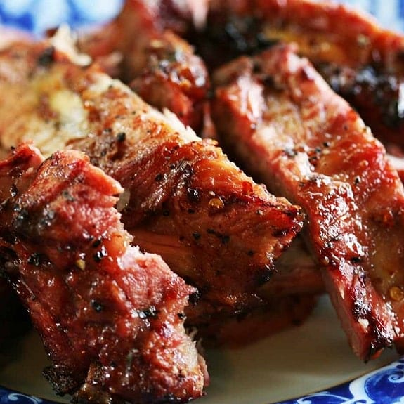 pressure cooker spicy pork ribs