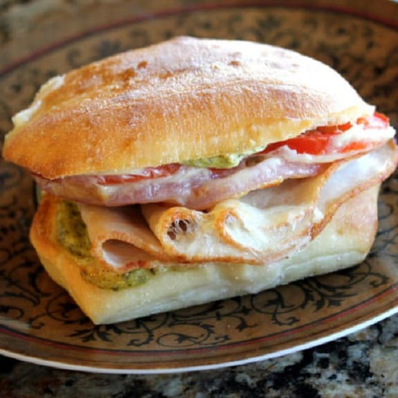 simple cheesy ham sandwich recipe slow cooker