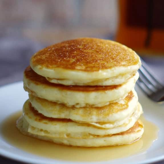 easy breakfast pancakes recipe