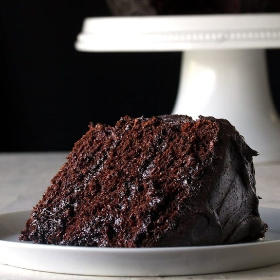 Oven Baked Easy Chocolate Cake Recipe
