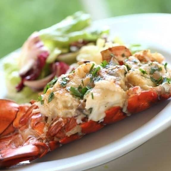 oven cooked lobster tails recipe