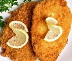 Oven baked Breaded Chicken Cutlets Recipe #oven #recipes #chicken #homemade #dinner #lunch #easy