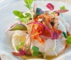 Scallop ceviche recipe #seafood #healthy #dinner #lunch #scallops #easy #lowcarb #recipes #food