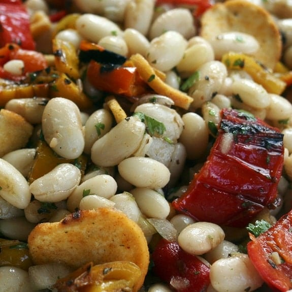 easy white kidney bean salad recipe