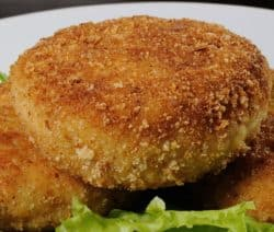 fried crispy chicken cutlets recipe