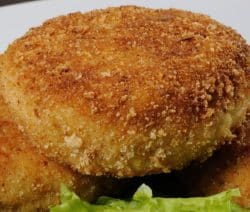 Easy baked breaded chicken cutlets recipe. Very easy and delicious chicken breasts recipe. #oven #chicken #dinner #homemade #yummy