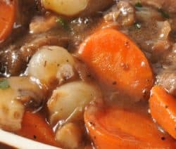 slow cooker beef stew bourguignon recipe
