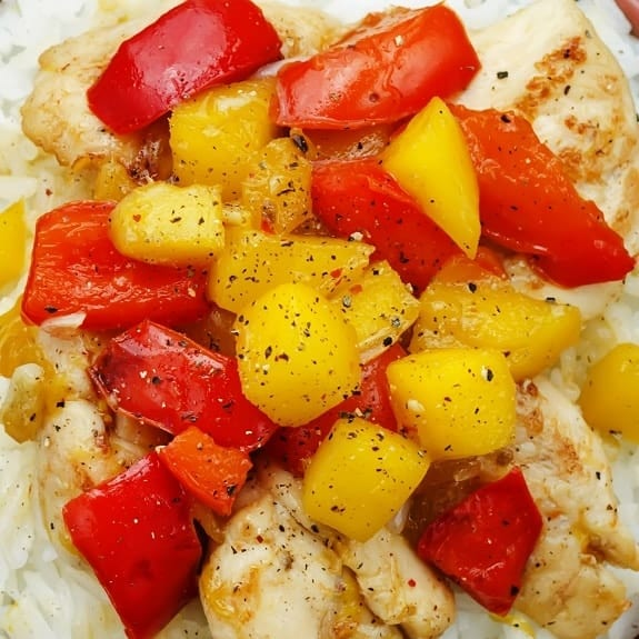 baked chicken breasts with mango chutney sauce recipe