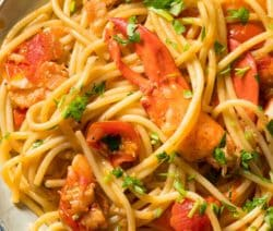 easy lobster tarragon pasta recipe
