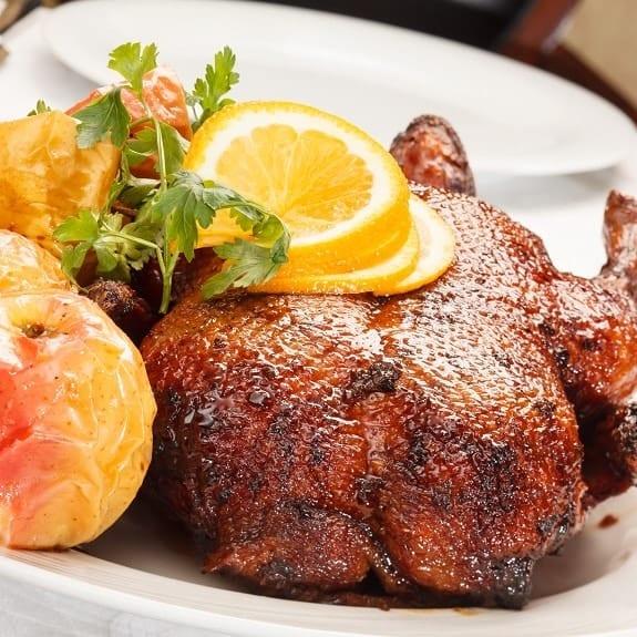 roast christmas goose recipe
