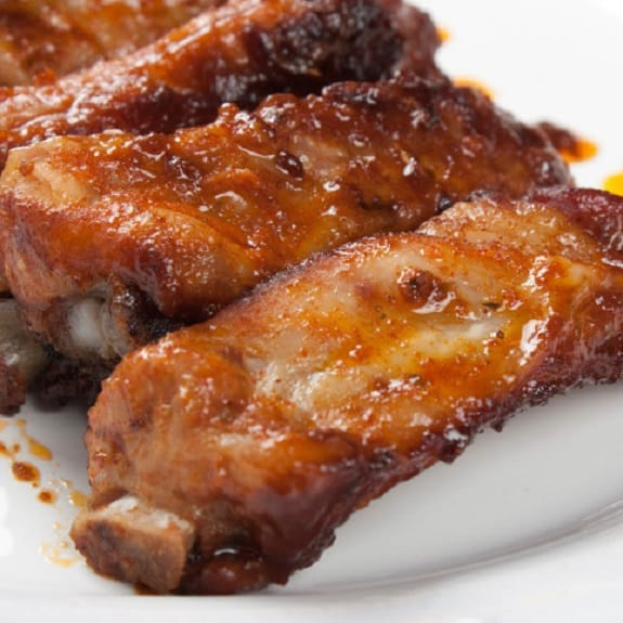 how to cook marinated ribs in the oven