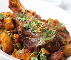 oven cooked lamb shanks