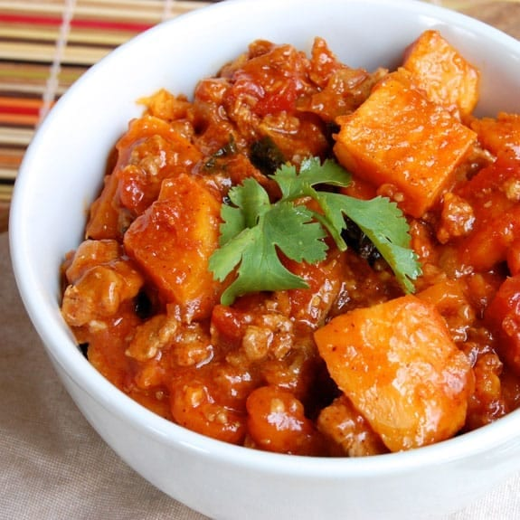 slow cooker turkey and apple stew recipe