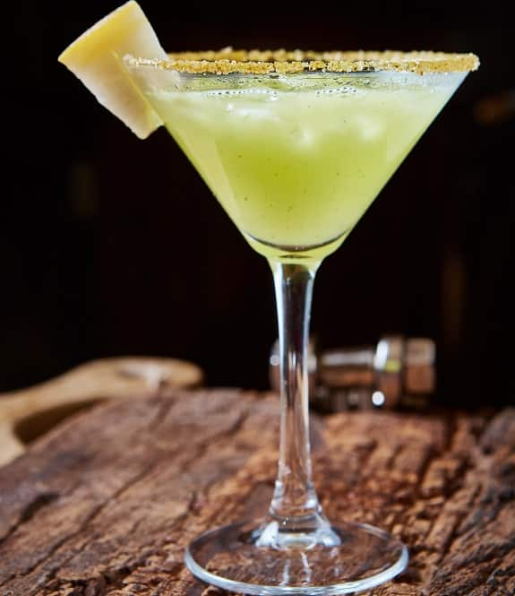 melon margarita cocktail