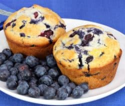 oven baked muffins