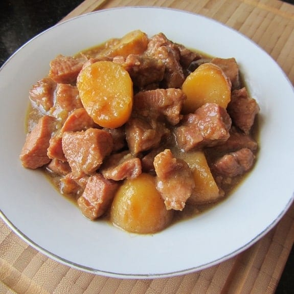 slow cooker pork and potatoes
