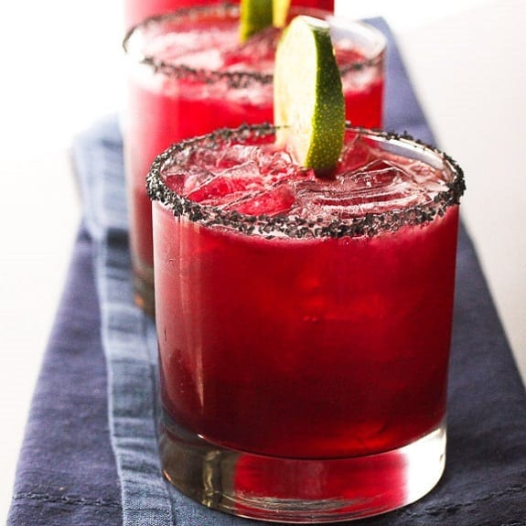 hibiscus margarita cocktail
