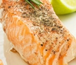 Oven baked marinated salmon steaks. Marinated salmon steaks baked in halogen (turbo) oven. Very easy and delicious. #turbooven #halogenoven #seafood #salmon #dinner #homemade