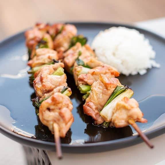 easy chicken yakitori recipe