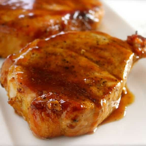 slow cooker teriyaki pork chops
