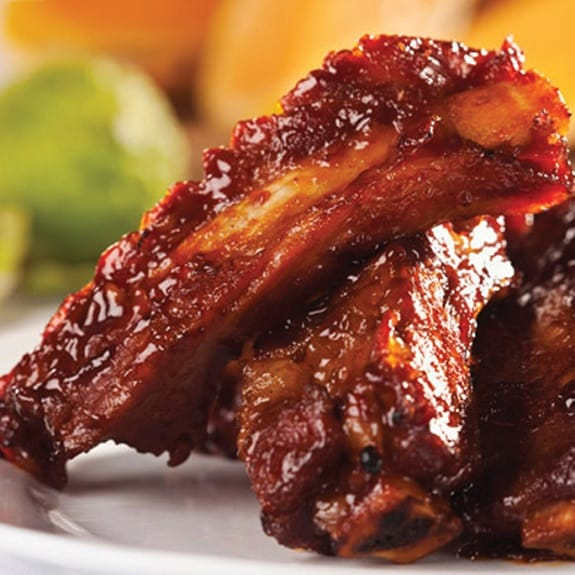 slow cooker barbecued spareribs
