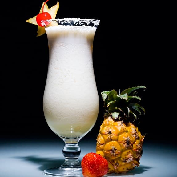 west indian colada cocktail