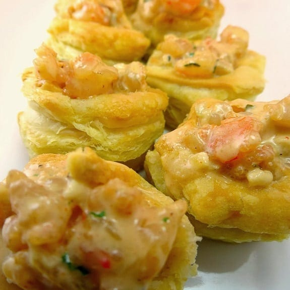 fried shrimp puffs