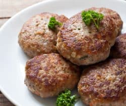 danish frikadeller meat patties