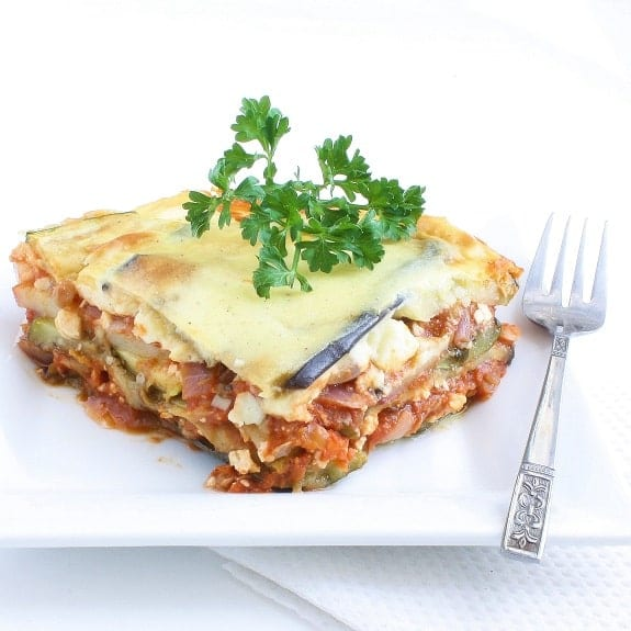 oven baked vegetable moussaka