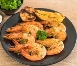 fired-butter prawns