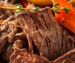 slow cooker beef pot roast with vegetables