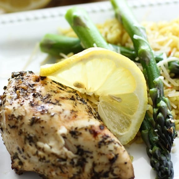 grilled lemon chicken breasts