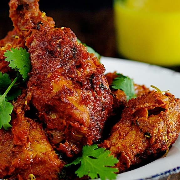 fried spicy chicken
