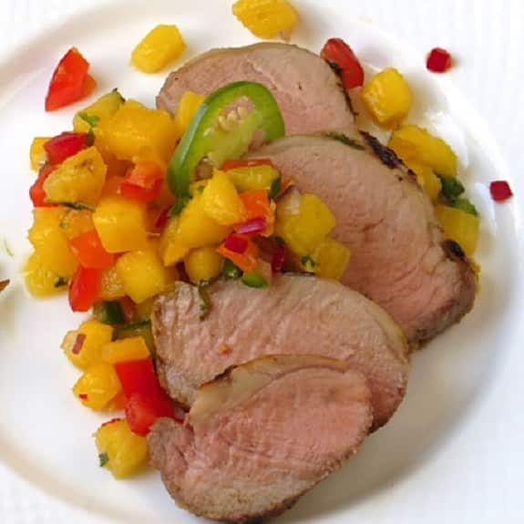 tequila marinated pork tenderloin