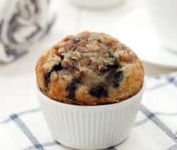 oven baked blueberry muffins