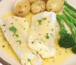 ovem baked lemon and ginger haddock