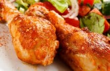 oven baked curried chicken drumsticks